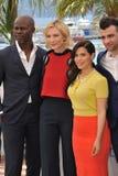 Djimon Hounsou et Cate Blanchett et America Ferrera et Jay Baruchel Images libres de droits