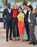 Djimon Hounsou et Cate Blanchett et America Ferrera et Jay Baruchel et Kit Harington Photos stock