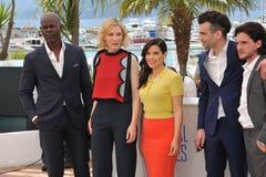 Djimon Hounsou et Cate Blanchett et America Ferrera et Jay Baruchel et Kit Harington Photo stock