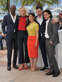Djimon Hounsou et Cate Blanchett et America Ferrera et Jay Baruchel et Kit Harington Photographie stock