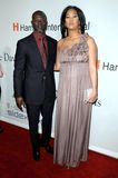 Djimon Hounsou, Kimora Lee Stock Photo