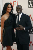 Djimon Hounsou, Kimora Lee Simmons, Morgan Freeman Royalty Free Stock Image