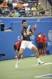 Djokovic罗杰斯杯子2012年(116) 免版税库存照片