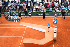 Djokovic, French Open 2014, Final Stock Photography