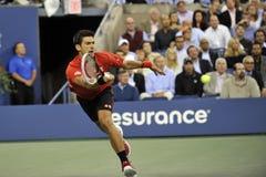 Djokovic gewonnen US Open 2015 (3) Royalty-vrije Stock Foto