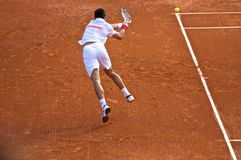 Djokovic Monte Carlo Rolex Original 3 Stockfotografie