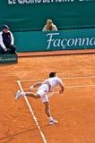 Djokovic Monte Carlo Rolex Original 7 Lizenzfreie Stockfotografie