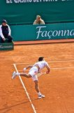 Djokovic Montecarlo Rolex Master 7 Royalty Free Stock Photography