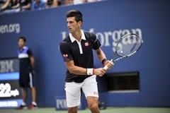 Djokovic Novak США раскрывает 2015 (58) Стоковое Изображение