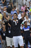 Djokovic Novak США раскрывает 2015 (115) Стоковые Изображения