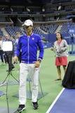 Djokovic Novak США раскрывает 2015 (211) Стоковые Изображения