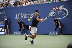 Djokovic Novak США раскрывает 2015 (52) Стоковые Фотографии RF