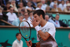 Djokovic Novak emotions (177) Royalty Free Stock Photo