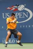 Djokovic Novak in US öffnen 2009 (9) Lizenzfreie Stockfotografie