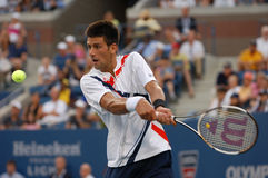 Djokovic Novak at US Open 2007 (108) Royalty Free Stock Photos