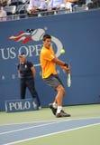 Djokovic Novak at US Open 2009 (13) Stock Photos