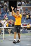 Djokovic Novak at US Open 2009 (60) Stock Images