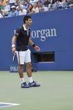 Djokovic Novak US Open 2015 (89) Arkivfoto