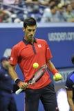 Djokovic Novak us open 2015 (131) Zdjęcie Royalty Free