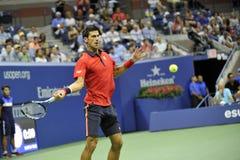 Djokovic Novak US Open 2015 (155) Arkivfoto