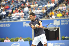 Djokovic Rogers Cup 2012 (93) Royalty Free Stock Photography