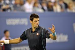 Djokovic US Open 2013 (382) Royaltyfria Foton