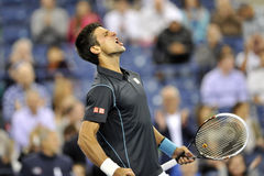 Djokovic US Open 2013 (399) Royalty Free Stock Photography