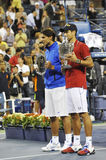 Djokovic winner of USOpen 2011 (2) Royalty Free Stock Image