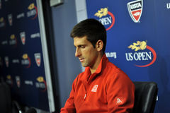 Djokovic won US Open 2015 (8) Royalty Free Stock Image
