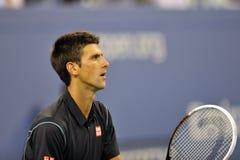 Djokovicus open 2013 (374) Royalty-vrije Stock Fotografie