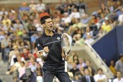 Djokovicwinnaar van Open 2011 (11) Stock Afbeelding