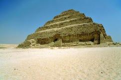 djoser埃及金字塔步骤 免版税图库摄影