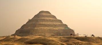 Djoser步金字塔在埃及,著名,地标 免版税库存图片