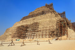 djoser金字塔恢复 图库摄影