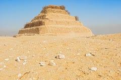 Djoser,埃及金字塔  免版税图库摄影