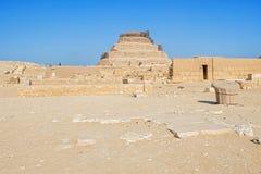 Djoser,埃及金字塔  库存图片