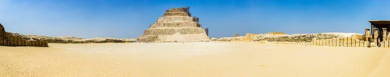 Djoser panoramic Royalty Free Stock Image