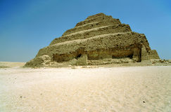 djoser piramidy Egiptu krok Fotografia Royalty Free