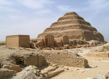 Djoser pyramid Royalty Free Stock Images