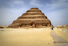 Djoser pyramid Stock Photography