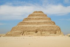 Djoser's step pyramid Royalty Free Stock Photography
