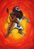 Djärva Hercules (2011) Arkivbild