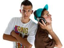 djs新鲜的少年年轻人 库存照片