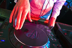 DJs Hands Royalty Free Stock Image