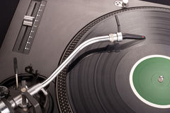 Dj's turntable Stock Photos