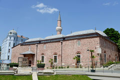 Djumaya moské i Plovdiv Arkivbild