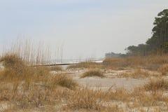 Djup av sanddyn Fotografering för Bildbyråer