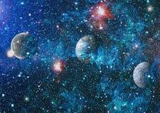 djup galaxavståndsspiral Beståndsdelar av denna avbildar möblerat av NASA royaltyfri fotografi