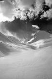 djup hög bergsky Arkivfoton