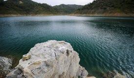 djup lake Arkivfoton